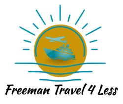 Freeman Travel 4 Less Logo